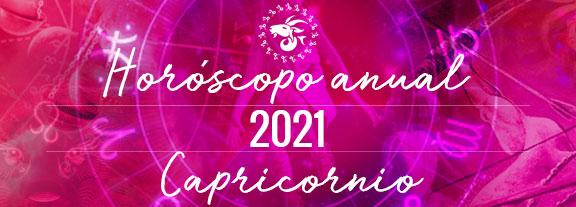 Horóscopo de Capricornio 2021