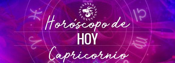 Horóscopo de Capricornio Hoy